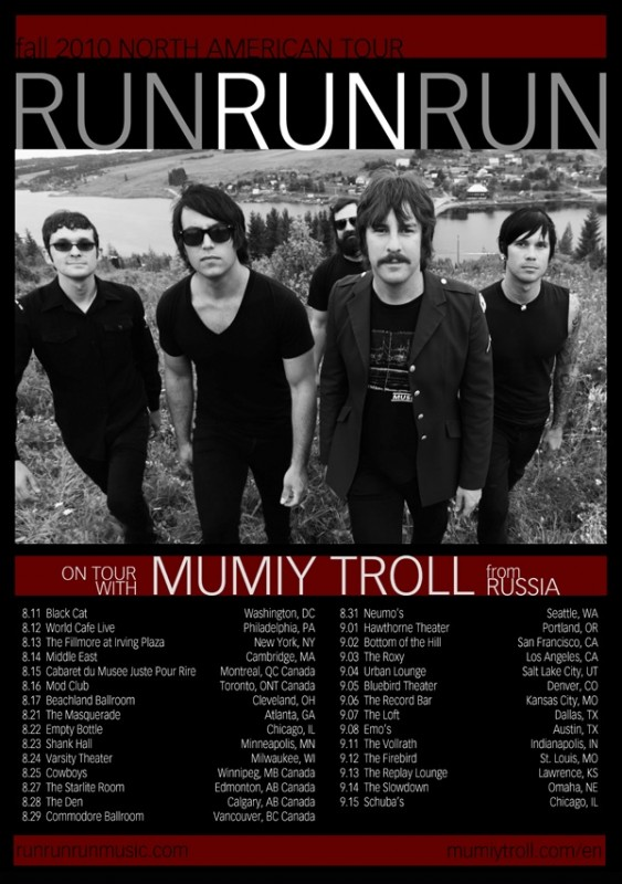RUN-RUN-RUN-Fall-US-CA-Tour